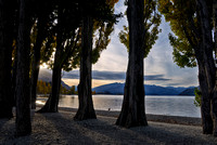 Evening Light Over Lake Wanaka, New Zealand