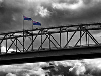 017. Auckland Harbour Bridge