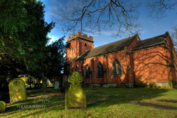 Dave Carter Photography. St Matthew's Church, Burntwood